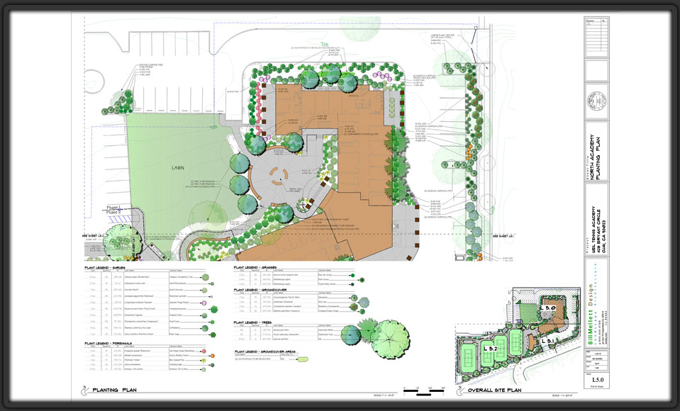 Landscape Presentation Design Plans Graphics